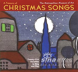 美丽的圣诞节歌谱-绘画作品的优美圣诞歌曲原谱
