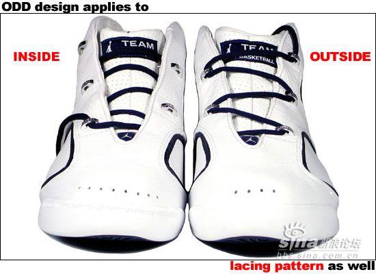 作者: 小胖子胖胖198398 时间: 2005-5-13 02:43 michelin-AirJordanJumpman DeuceTrey(介绍+评测) 中国上市的全白色配色 在这个图片里面搞清出鞋底的纪念意义 Team JORDAN TARHEELS-BEARS-JAYHAWKS-AGGIES-RED STORM-BEARCATS 翻译意思是:乔丹 贝卡罗那-熊队-争夺者-红队 暴风勇士 鞋头的字体是乔丹所在的学校名称HOHO