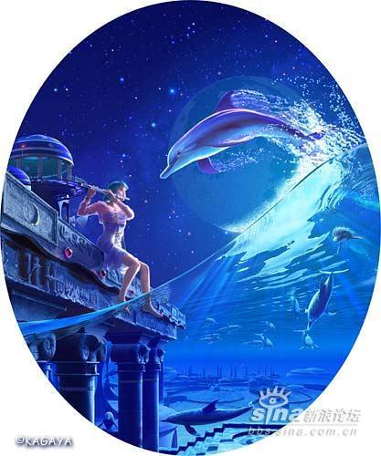 粉蓝色的海豚初级会员&