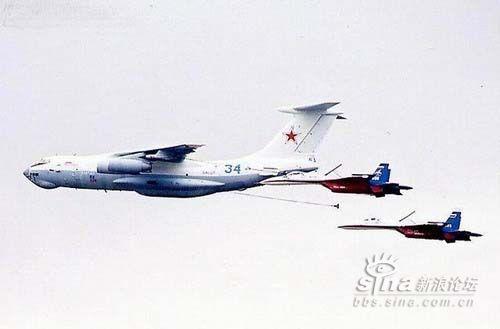 世界各国飞机空中加油