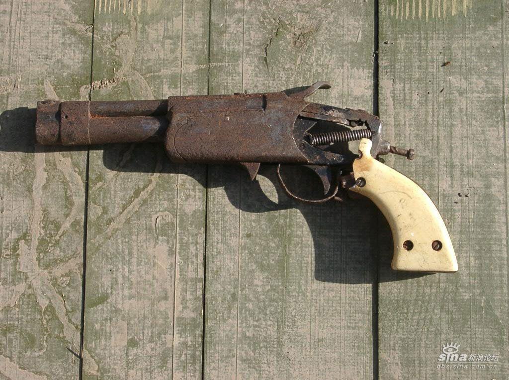 车臣叛军自制的武器