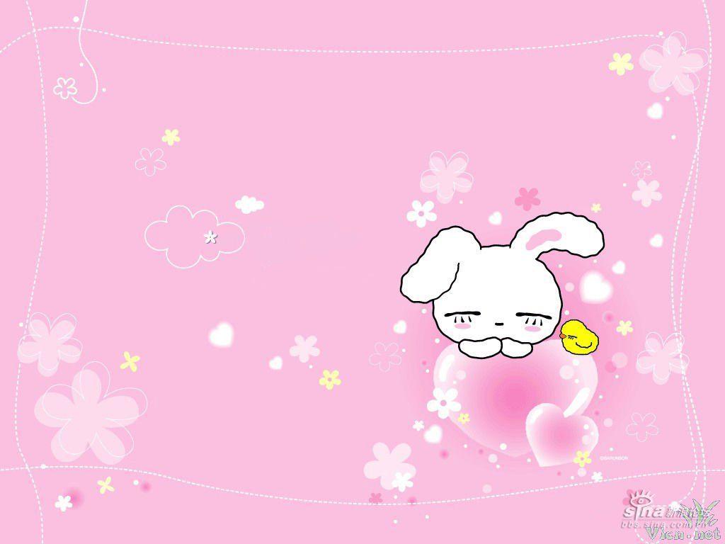 我最喜欢小白兔 大家呢?看它们可爱么?