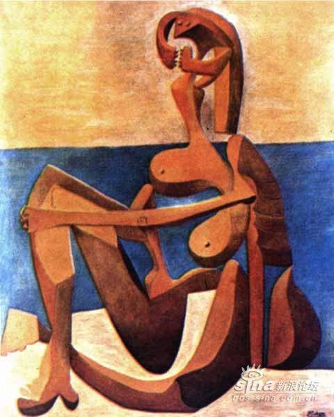 毕加索抽象作品欣赏