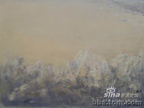 2004年两幅风景油画作品入选 中国当代艺术图片