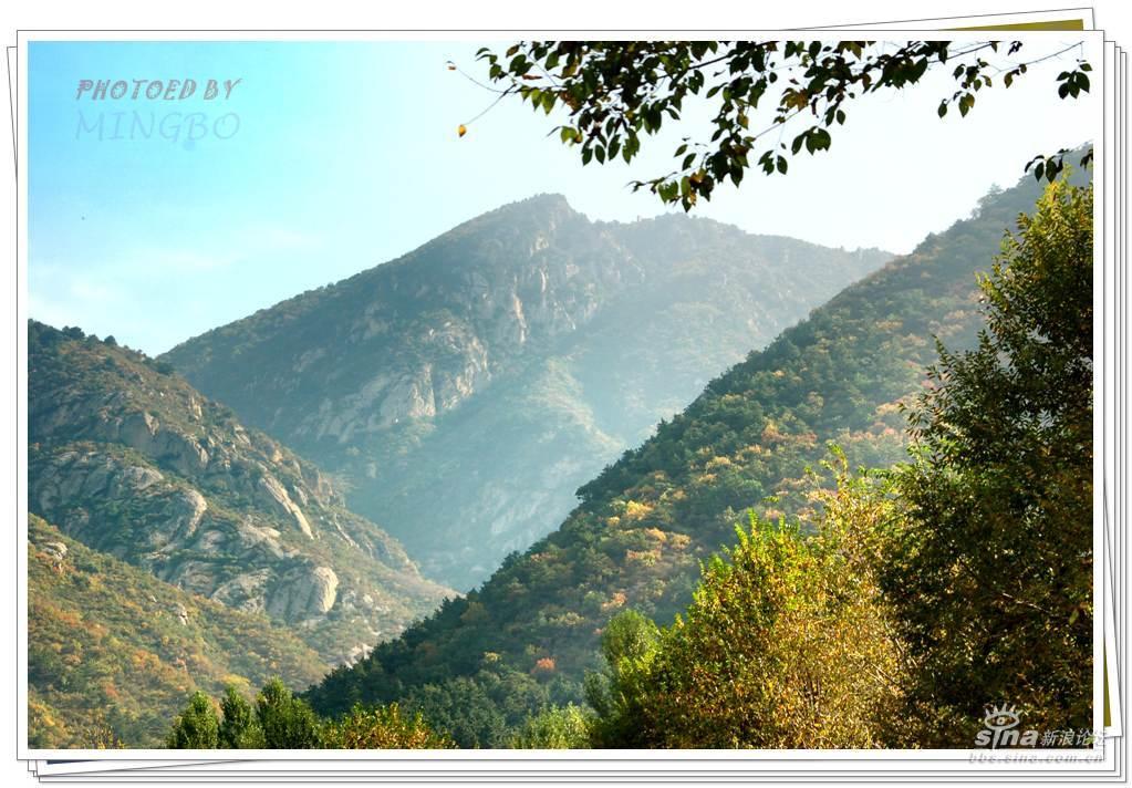 2006年10月2日拍于北京延庆松山森林公园