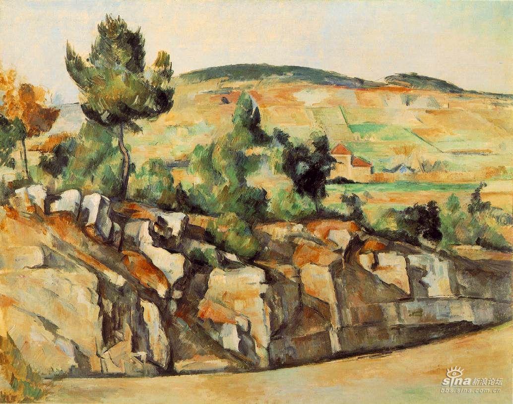 现代绘画之父法国画家塞尚名作欣赏