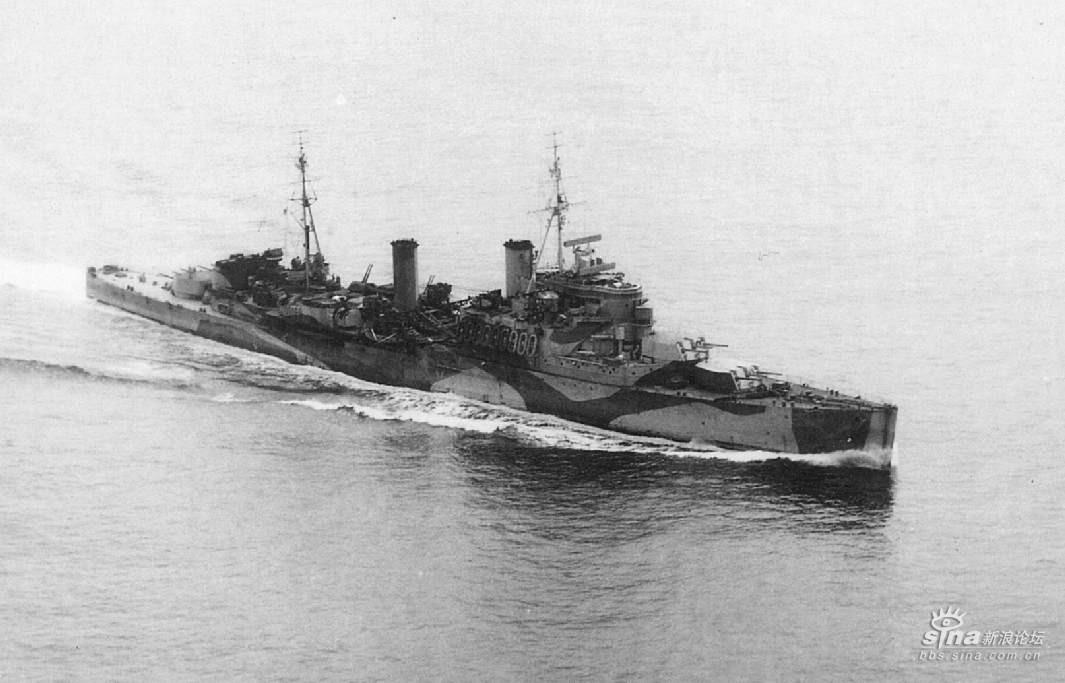 二战英国战舰图