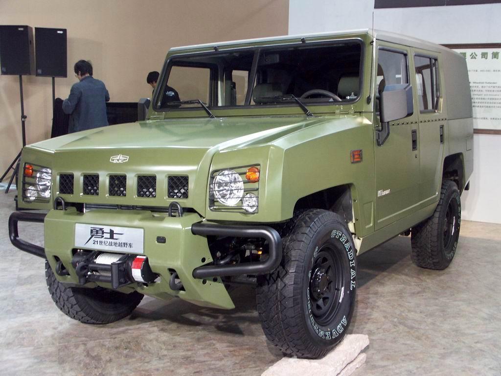 国产 勇士 军车年内列装6月民用版 勇士 可下线