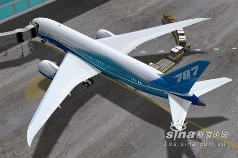 中国飞机制造企业在波音