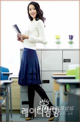 韩国白领时尚服装搭配
