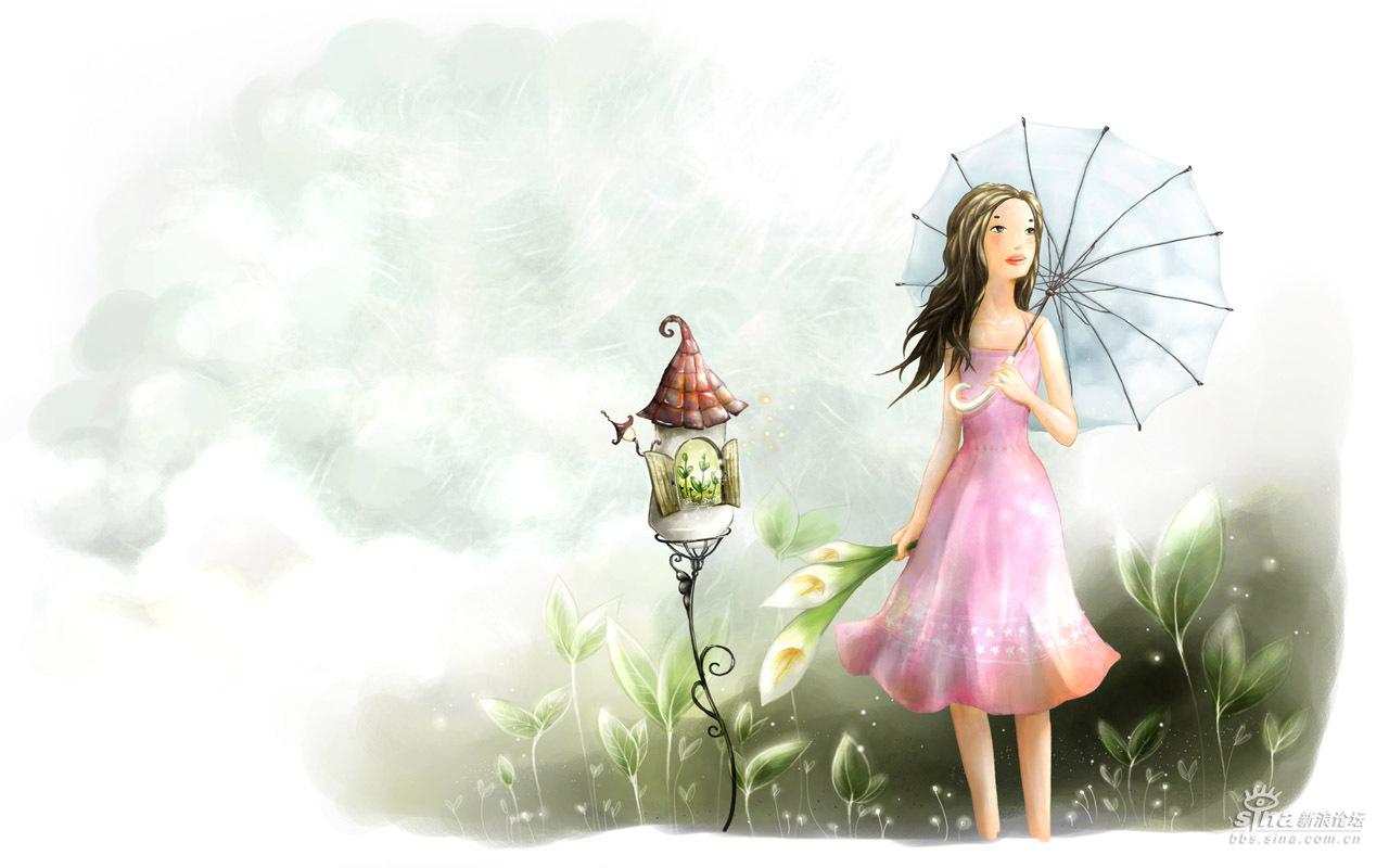童话风景★壁纸〓超可爱的说