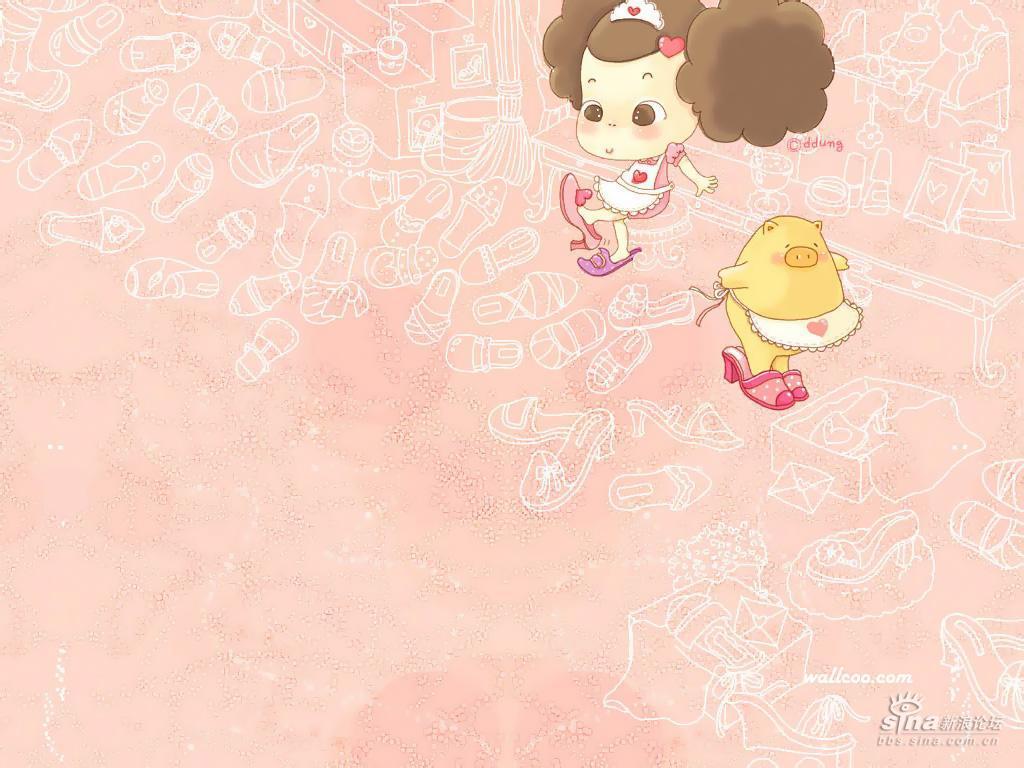 可爱的娃娃壁纸~~~~~~~~~