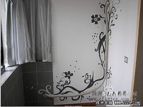 精美,个性的手绘墙画