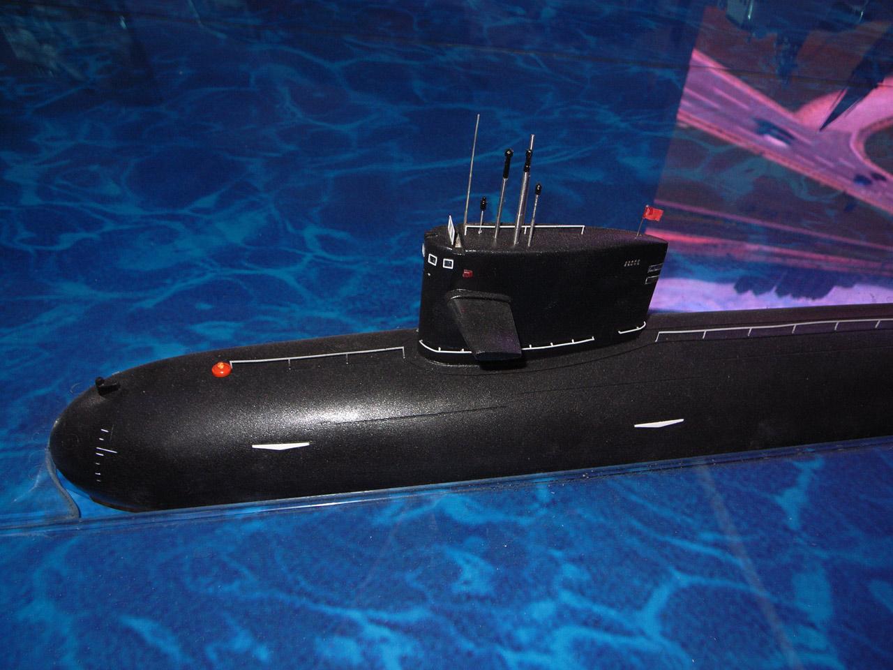 惊鸿一现 中国海军新型核子攻击潜艇091 III深度分析