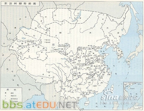 秦朝桂林郡地图