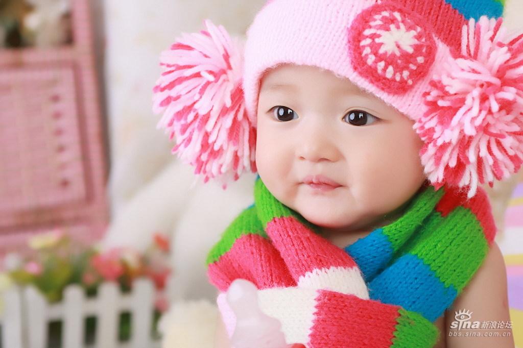 最新大眼睛美女宝宝照!