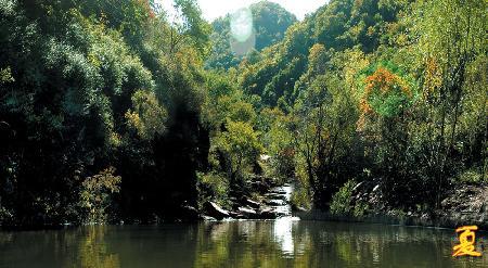 翠枫山自然风景区攻略