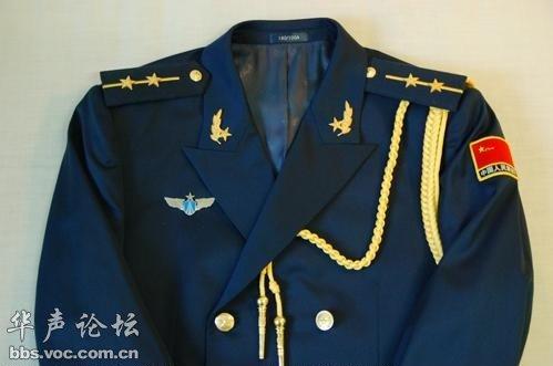 实拍全套07式空军常服 礼服图片
