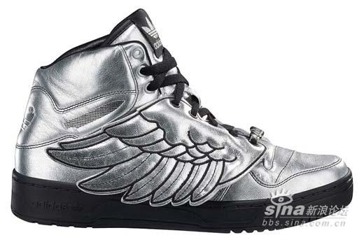 09限量版情侣款Adidas阿迪达斯天使之翼JsWings板鞋