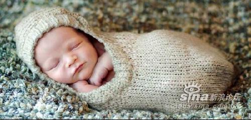 外国摄影师拍宝宝可爱睡姿