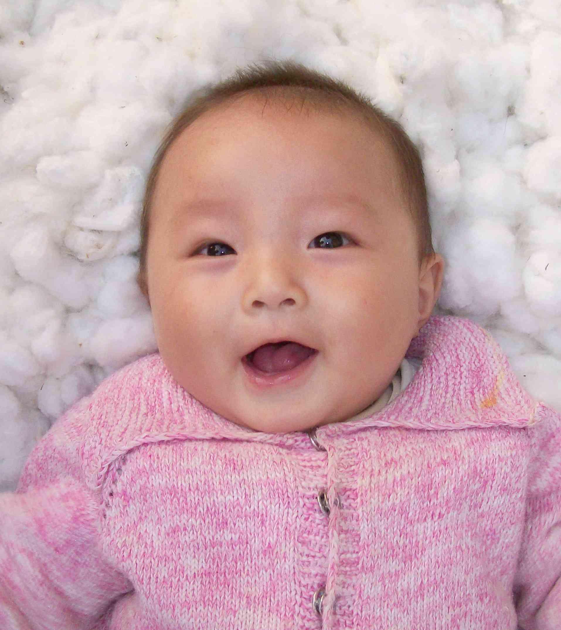 征集2010年世博宝宝笑脸(跟帖发照片)