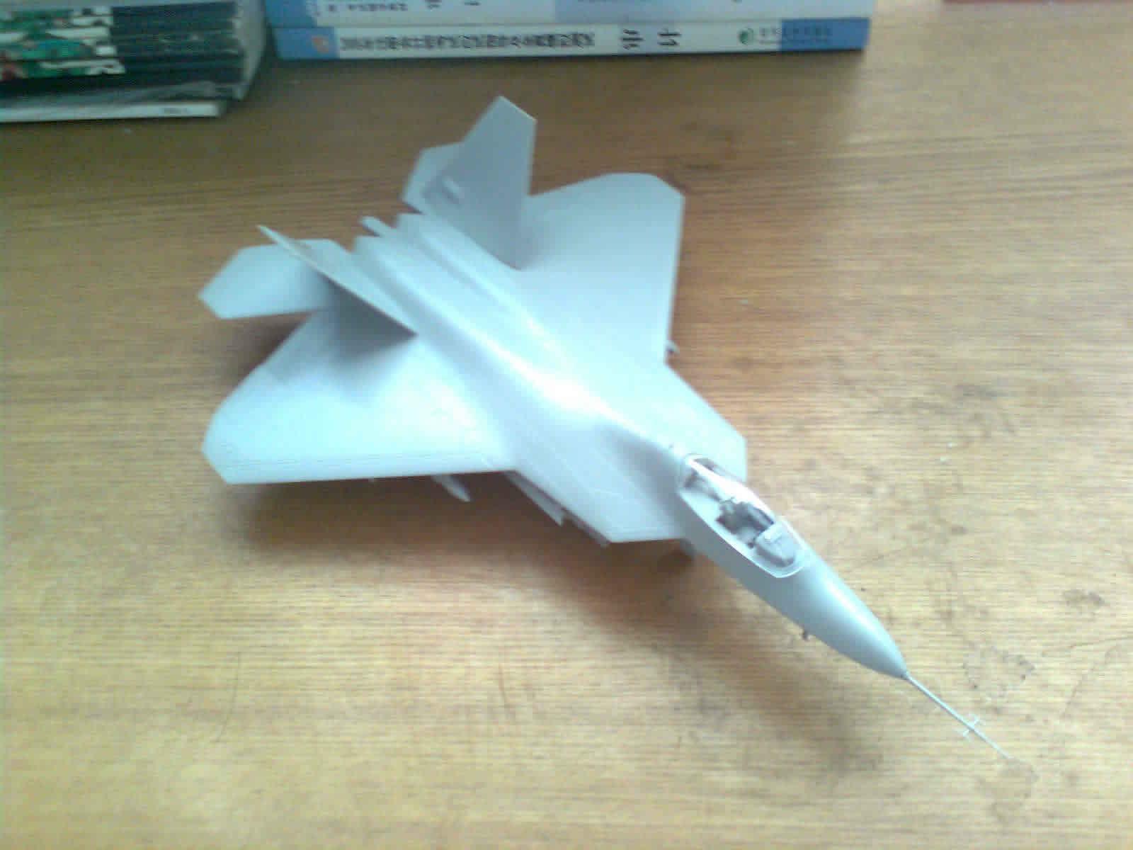 f-22静态模型制作全程