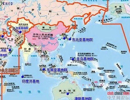 关岛世界地图的地理位置