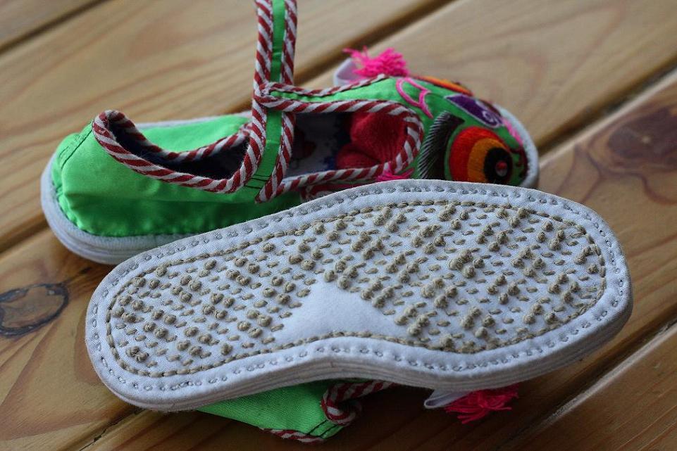 生动的金鱼鞋