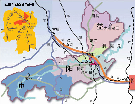 八一队的主场——南县   位于湖南省北部洞庭湖淤积平原,政府说